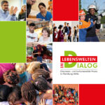 Lebenswelten im Dialog: Das Buch (Cover)